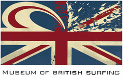 Museum of British Surfing Logo